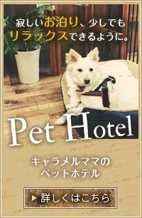 ペットホテルはこちら